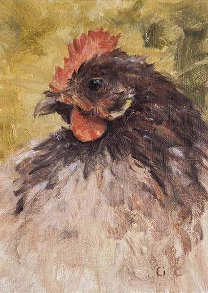hen w brown head sm