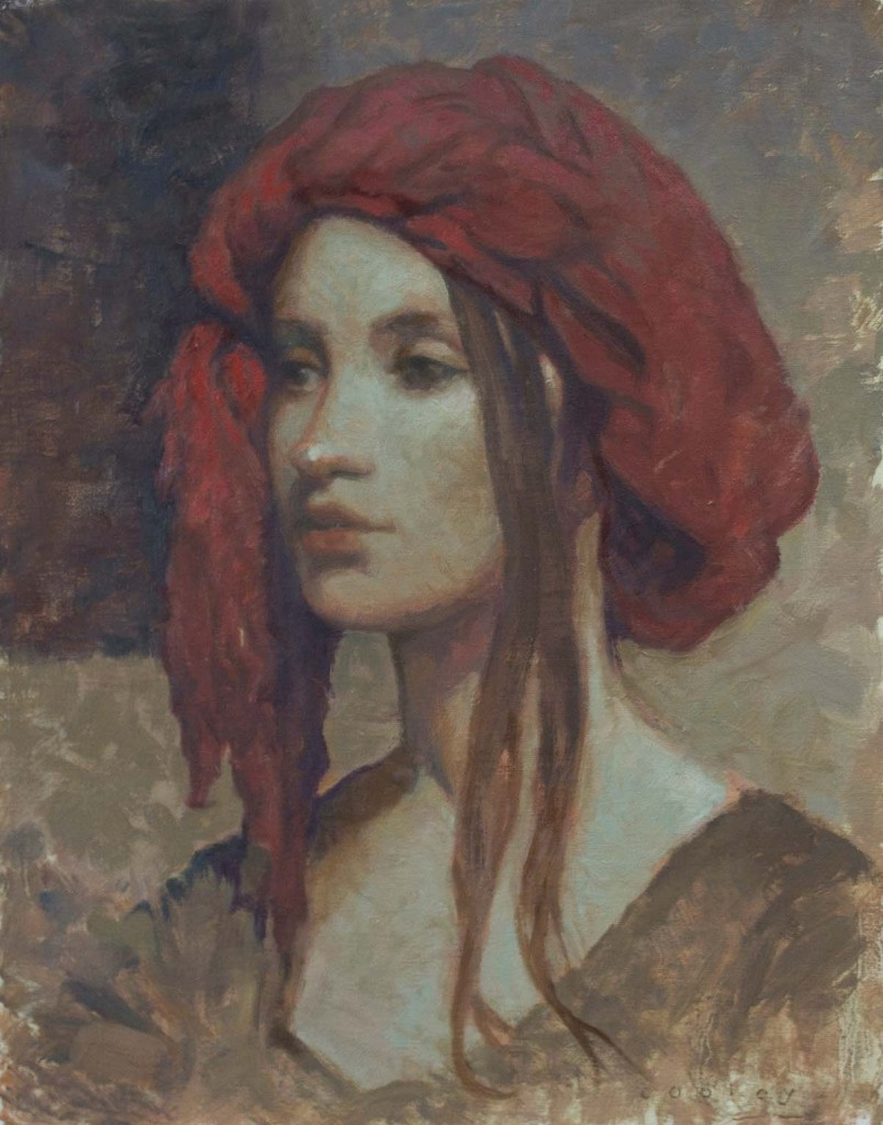 Lady in a Red Headress