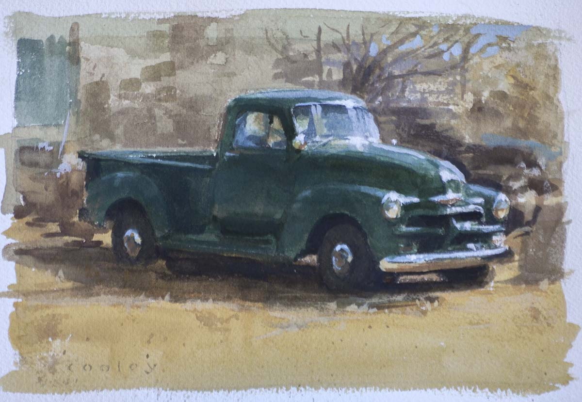 Classic Chevy Pickup : Cooley Art Gallery